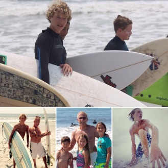 surfer boys and beach time