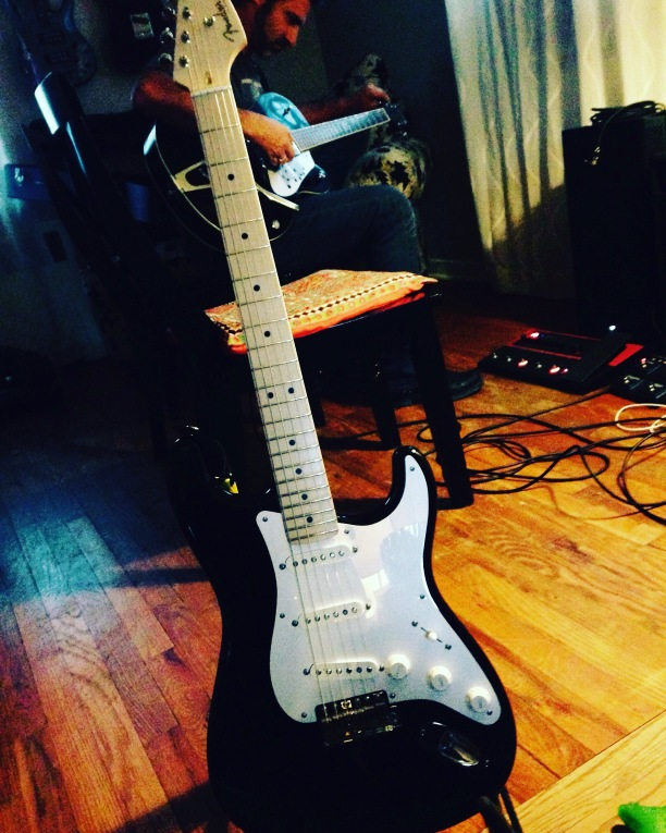 My new Eric Clapton American Deluxe Fender Strat :)