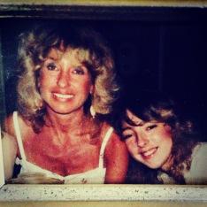 Mom and Lisa - love.