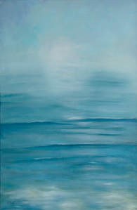 Tranquil Seas painting by Dawn Nagle