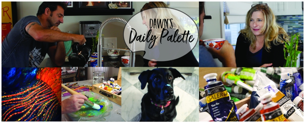 Dawn's Daily Palette, web series