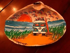 VW bus shell painting - www.dawnnaglegallery.com